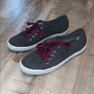 Keds Celeb Gray Wool Sneakers Size 9